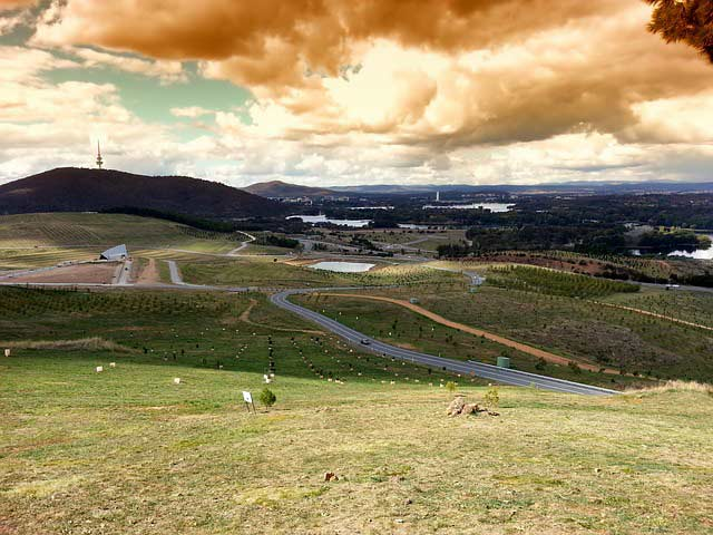 A view of Canberra, ACT