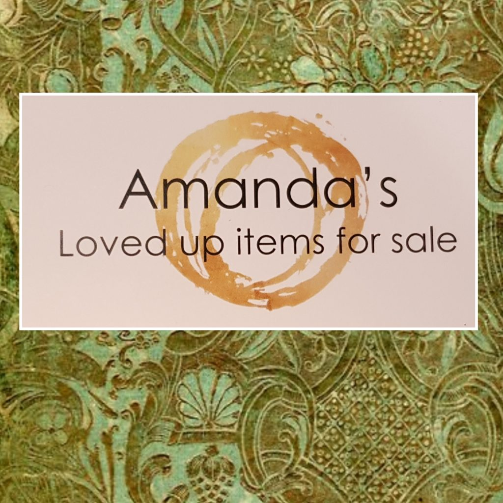 Amanda's Loved-up Items For Sale 1
