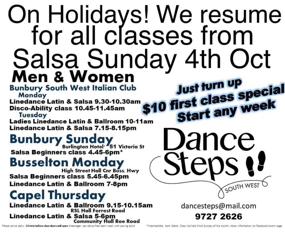 Dance Steps South West 2