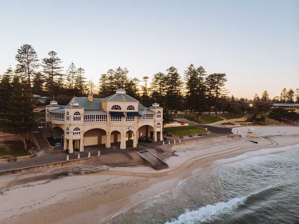 Cottesloe Beach and SLSC